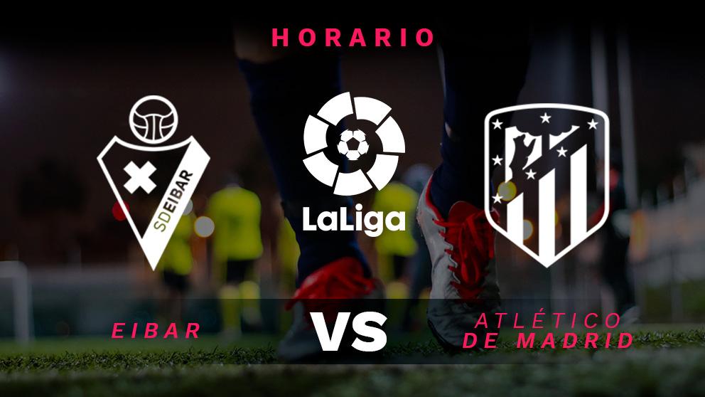 Liga Santander 2018-2019: Eibar – Atlético de Madrid | Horario del partido de fútbol de Liga Santander.
