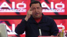 Hugo Chávez en su programa 'Aló presidente'.