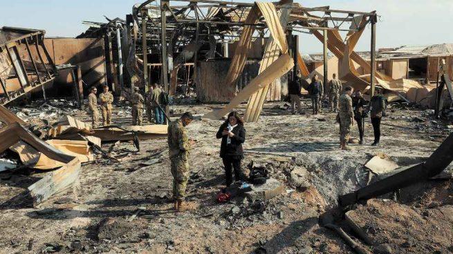 Hubo 11 militares de EEUU heridos tras el ataque de Irán