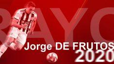 Jorge de Frutos, nuevo jugador del Rayo. (Rayo Vallecano)