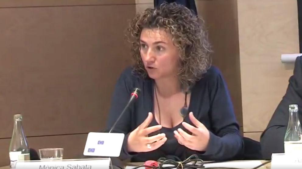 La ex portavoz de la Plataforma pel Dret de Decidir, Mónica Sabata Fernandez.