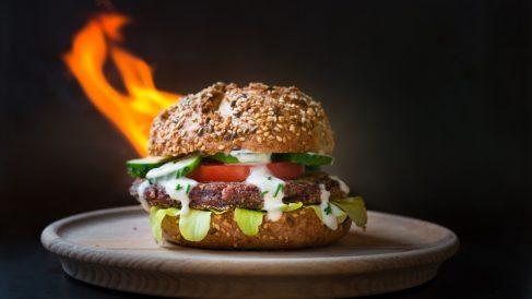 Receta de hamburguesa americana de ternera