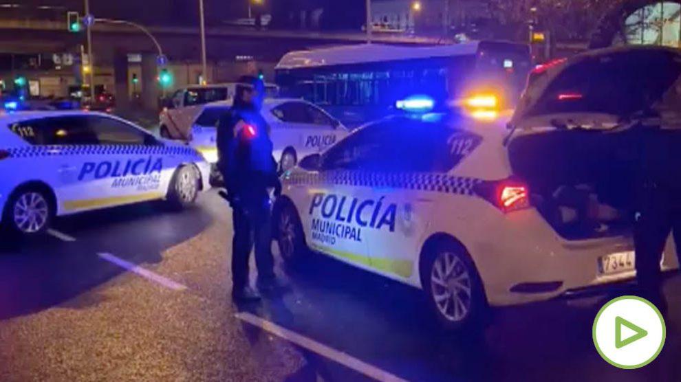 Un taxi atropella a un joven de 24 años en el Paseo de la Castellana de Madrid