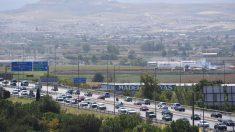 Tráfico, calidad del aire, recurso. Foto: EP