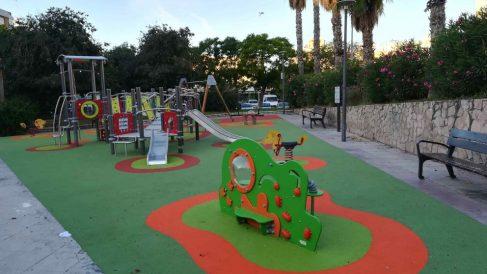 Parque infantil. Foto: EP
