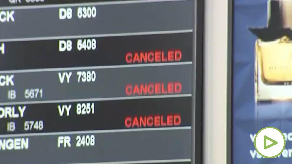 La borrasca Gloria obliga a cerrar el tráfico aéreo, suspender actividades y prohibir el baño en Alicante