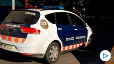 Un coche de los Mossos d'Esquadra en Barcelona. Foto: Europa Press