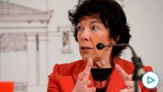 La ministra de Educación, Isabel Celaá. Foto: EFE