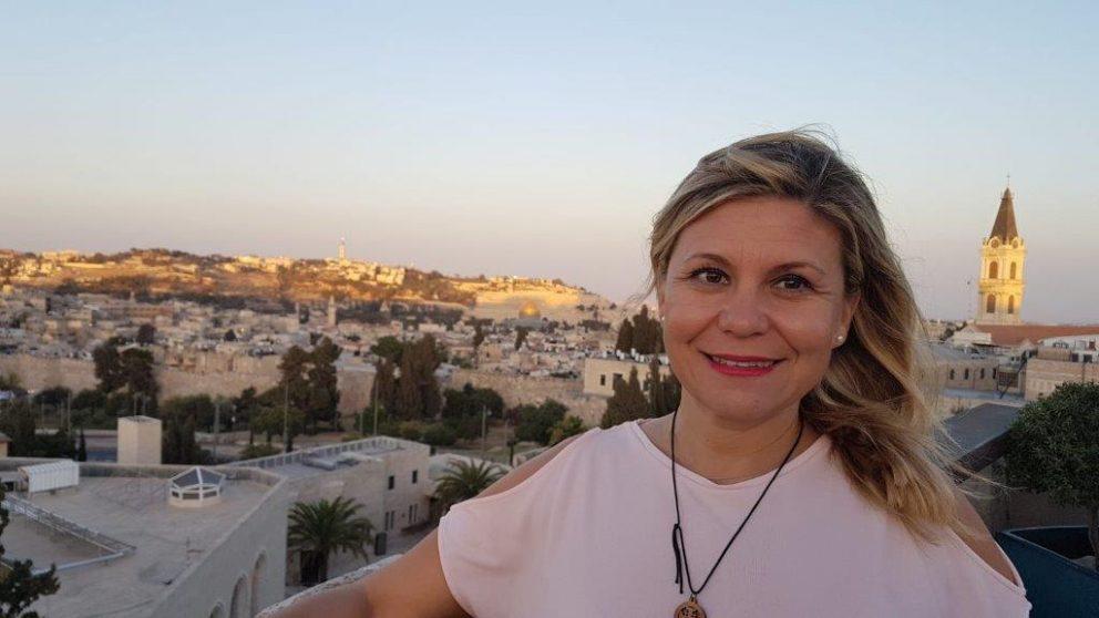 Noelia Ávila, directora de Halcón Viajes Peregrinaciones, del grupo Globalia.