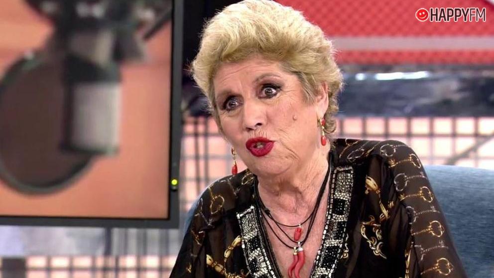 María Jiménez tuvo un sueño erótico con Jorge Javier Vázquez