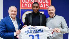 Toko Ekambi, nuevo jugador del Olympique de Lyon. (Olympique de Lyon)