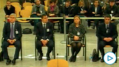 Juicio a Josep Lluís Trapero en la Audiencia Nacional.