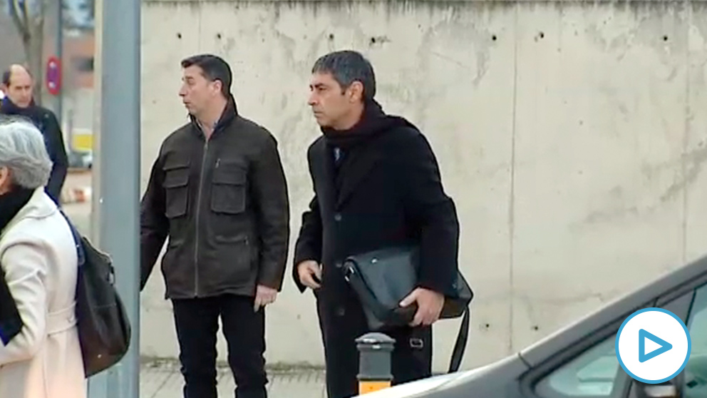 José Luis Trapero, a su llegada a la Audiencia Nacional.