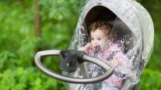 Consejos para salir con tu bebé un día lluvioso