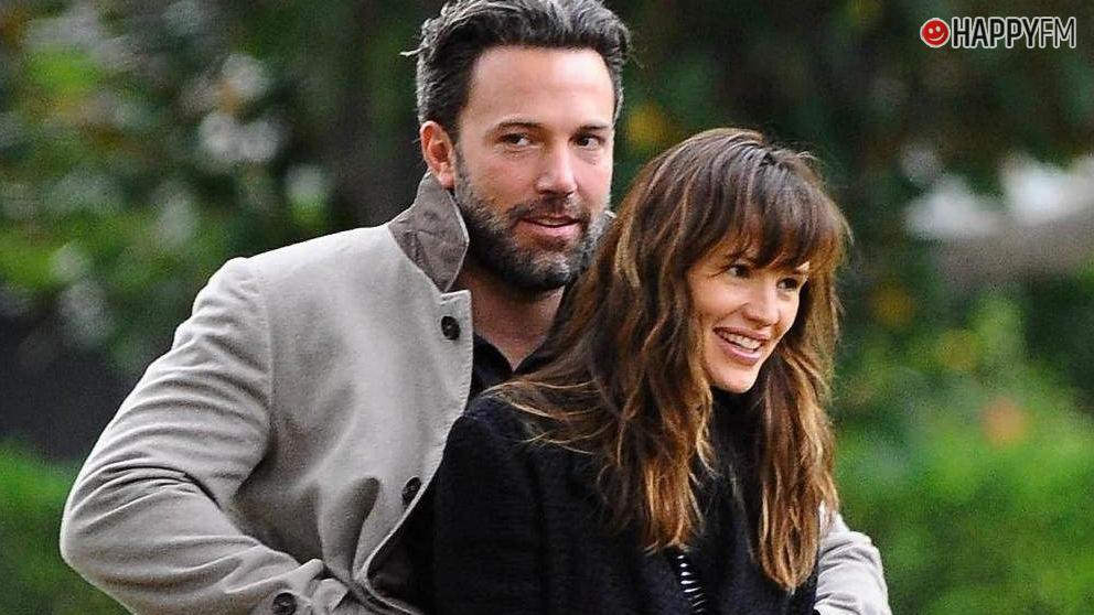 Ben Affleck y su mujer Jennifer Garner