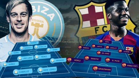 El Barcelona se enfrenta al Ibiza en dieciseisavos de final de la Copa del Rey.