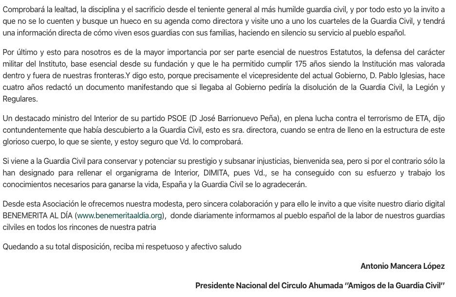 Los guardias civiles lanzan el primer aviso a Sánchez: se oponen a la desmilitarización que defiende Iglesias