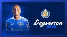 Deyverson Silva, nuevo jugador del Getafe. (Getafe Club de Fútbol)
