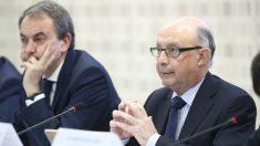 Cristóbal Montoro y José Luis Rodríguez Zapatero