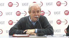 Justo Rodríguez Braga, ex secretario general de UGT en Asturias.