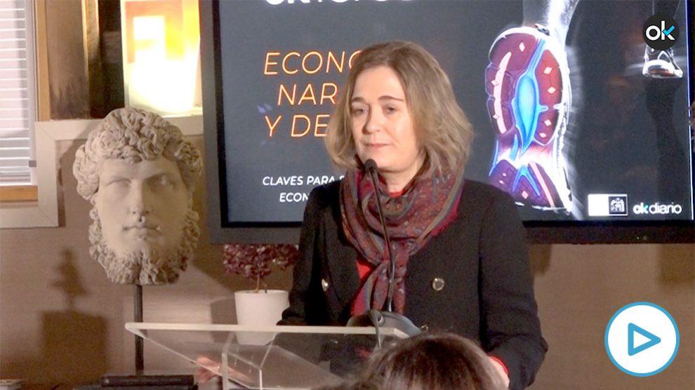 Marta Rivera, en el Foro de Okdiario.