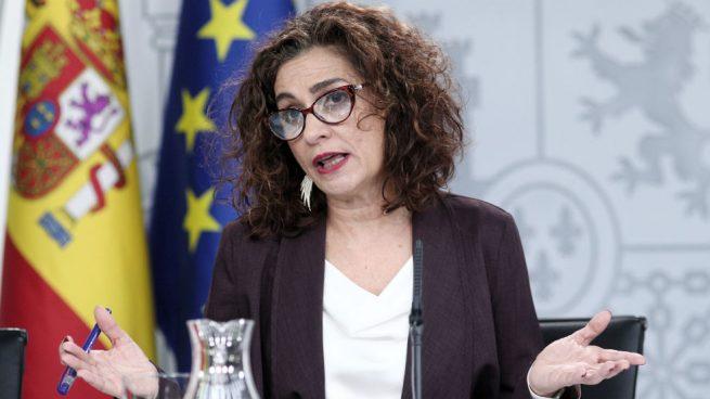 María Jesús Montero, ministra portavoz y de Hacienda.