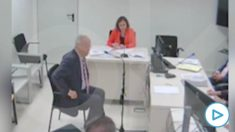 El ex embajador Raúl Morodo declara ante el juez Snatiago Pedraz.