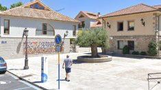 Plaza en Torrelodones donde se homenajea a Mariano Cuadrado.