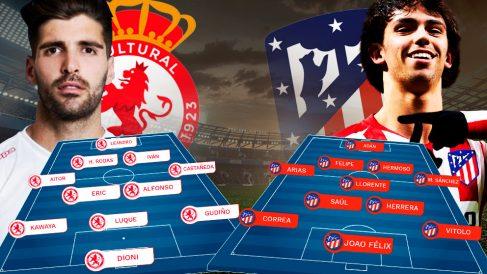 Cultural Leones y Atlético se enfrentan en Copa del Rey.