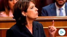 La ex ministra de Justicia Dolores Delgado. Foto: EFE
