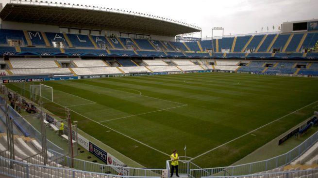 La Policía registra las instalaciones del Málaga por orden judicial