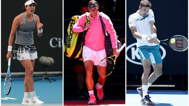 partidos Open de Australia