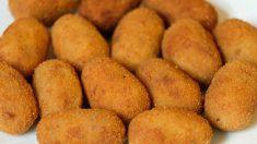 Receta de croquetas de huevo cocido, queso de cabra y jamón