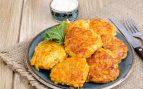 Tortitas de zanahoria y queso
