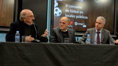 Roures, Tebas y Gayarri. (EFE)