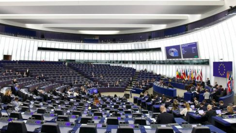 Sesión plenaria del Parlamento Europeo. Foto: EP