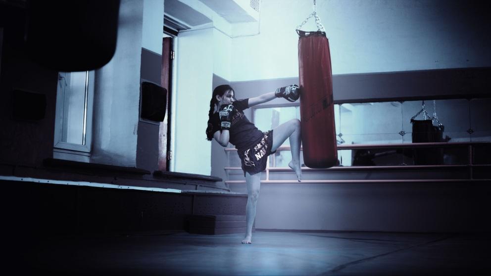 El kick boxing es una combinación de diferentes disciplinas