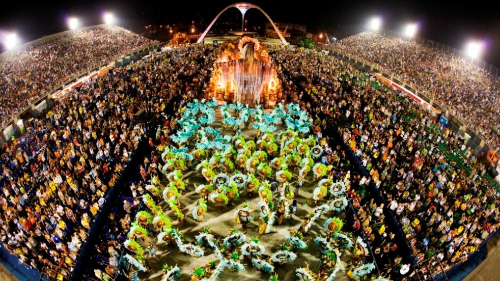 Río de Janeiro alberga el mejor carnaval del mundo