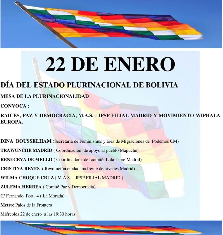 Podemos jalea a Evo Morales en plena investigación por la financiación de las narcodictaduras