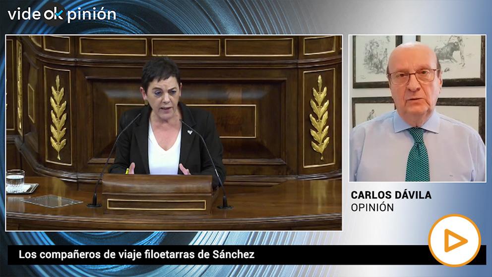 VideOKpinión Carlos Dávila – Los compañeros de viaje filoetarras de Sánchez