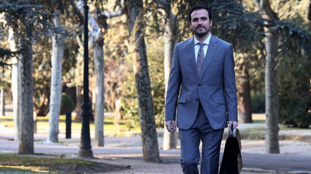 El ministro de Consumo, Alberto Garzón. (Foto. Moncloa)