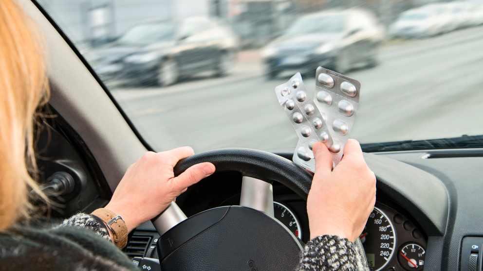 Efectos de algunos medicamentos para conducir