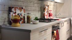 La encimera de la cocina se puede renovar fácilmente con pintura