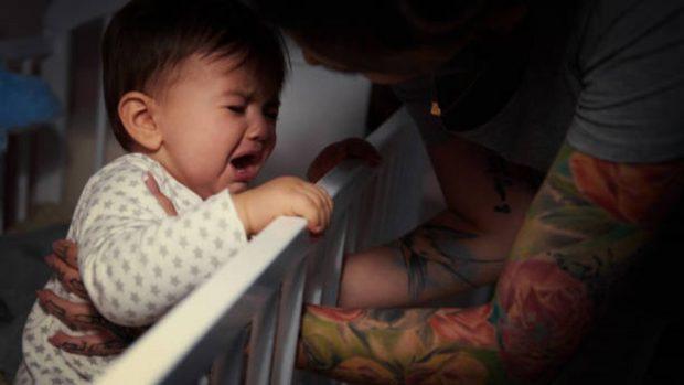 bebés llorando