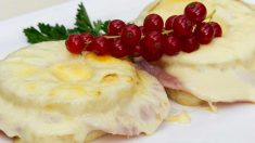 Receta de tostadas a los tres quesos