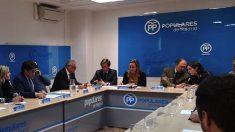 Reunión del PP de Madrid en Génova. (Foto. PP)