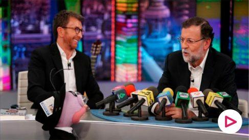 Mariano Rajoy, en 'El Hormiguero'.