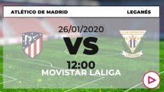 Atlético de Madrid-Leganés, en el Wanda Metropolitano.