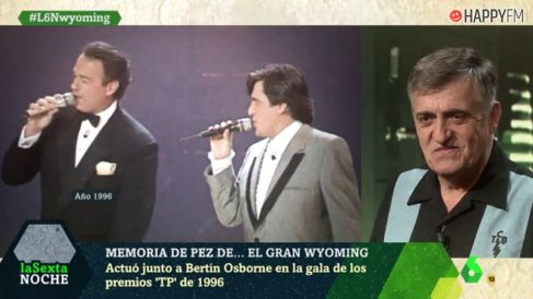Bertín Osborne y Wyoming