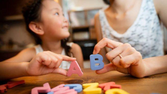 enseñar niños abecedario